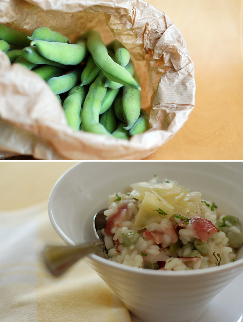 Broad Beans & Risotto