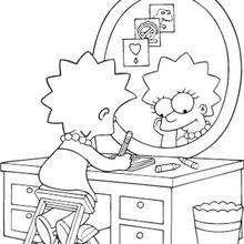 Dibujos Para Pintar Los Simpson Gratis Dibujos Para Colorear