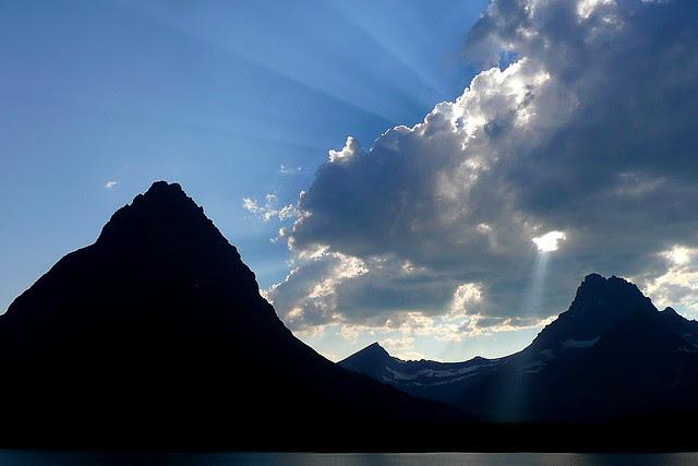 P1160787 Summer Afternoon in Many Glacier, Glacier National Park