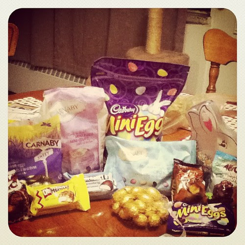 Easter treats! Some of these may be for some packages being sent out soon...