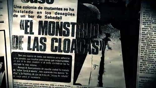 monstruo de las cloacas de Sabadell