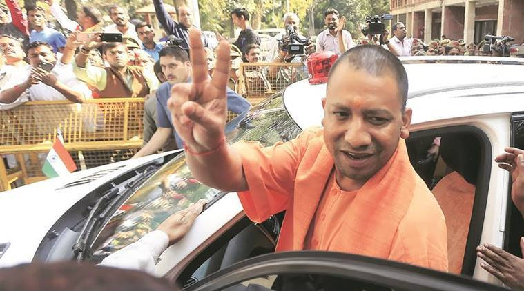 yogi adityanath, yogi gorakhpur, yogi adityanath, adityanath UP CM, uttar pradesh election, UP elections, RSS, Hindutva, Avaidyanath, gorakhpur mandir, india news