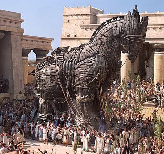 Image result for troy trojan horse