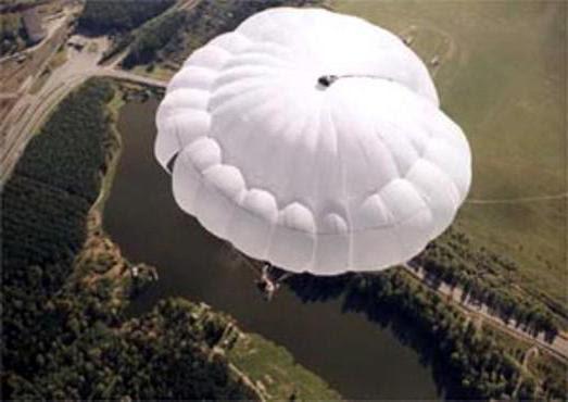 сколько строп у парашюта десантника д 6