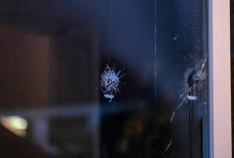 Der blev skudt ind gennem et vindue, hvor et barn lå og sov i Næstved - i den sag er to teenagere nu fængslet. Foto: Per Rasmussen.
