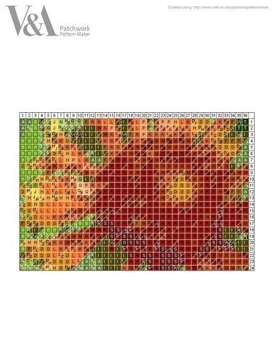 gallardia pattern