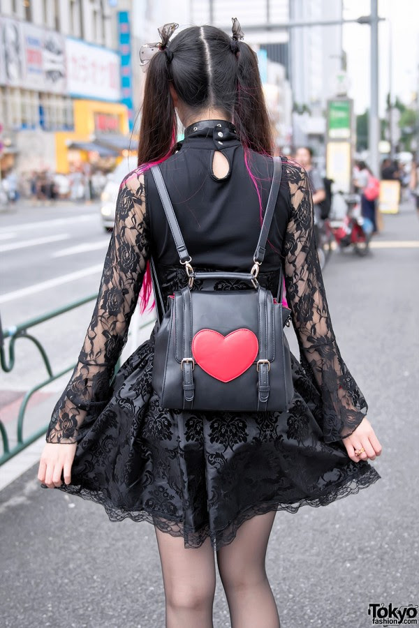 Leather Heart Backpack