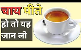 चाय पीते हो तो यह जान लो !! Tea Fact