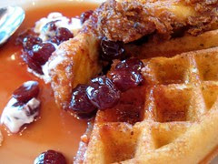 Southern Fried Chicken + Waffles