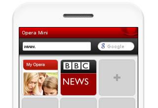 Simulador de Opera Mini