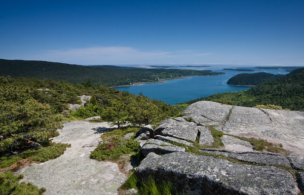 Somes Sound from the top of the Acadia Mountain Trail