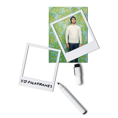 Polaframe Magnetic Photo Frame For Your Refrigerator With Erasable