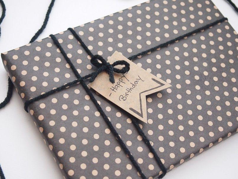 Geschenk einpacken Idee