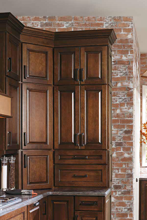 Stacked Wall Cabinet - Diamond Cabinetry