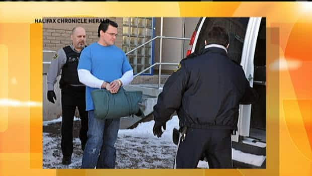 Police in New Glasgow say Christopher Alexander Falconer, is charged with kidnapping and first-degree murder of Amber Kirwan seven months ago. He was on parole for killing a cabbie in 1998