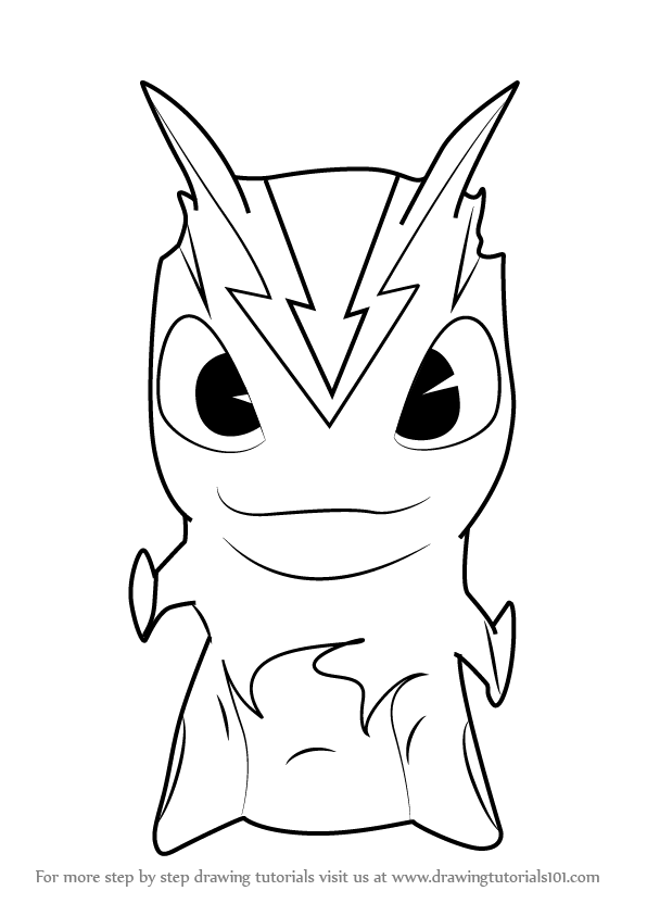 Slugterra Burpy Coloring Pages At Getdrawingscom Free For