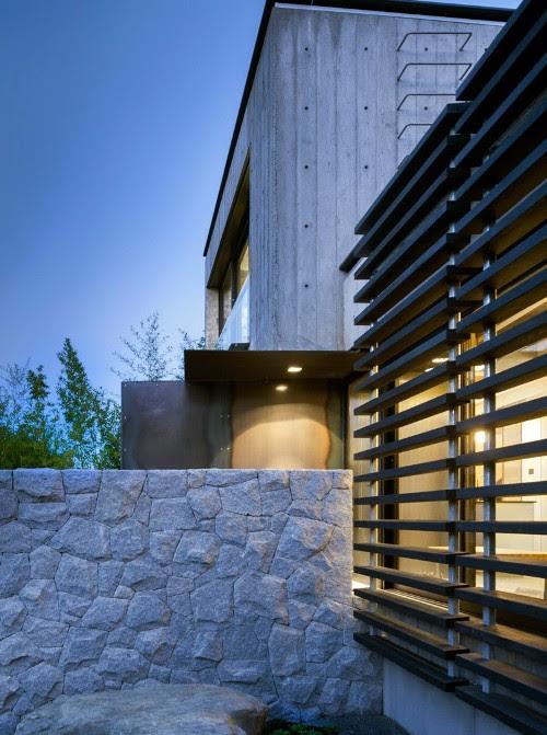 580+ konsep rumah minimalis full kaca Gratis