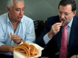 Rajoy, Arenas y los