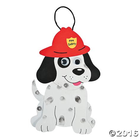 fire dalmation dog craft kit pk party supplies canada