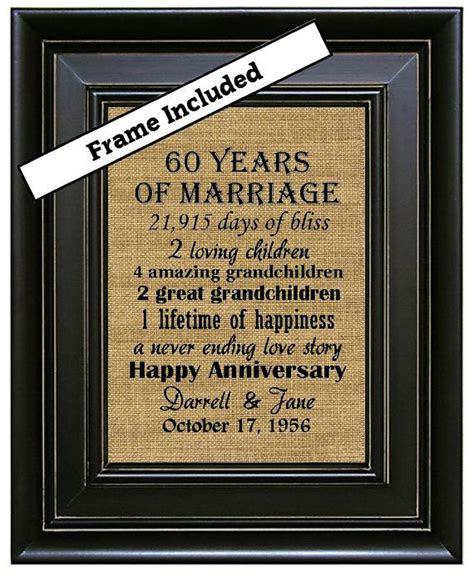 framed  wedding anniversaryth anniversary gifts