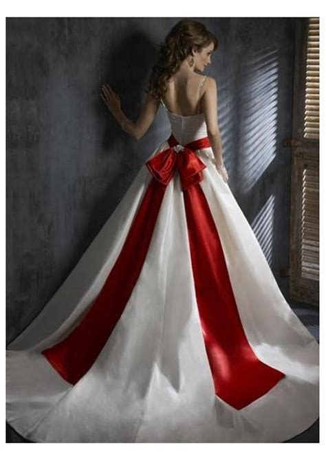 Cheap Wedding Gowns Online Blog: Red Wedding Dresses