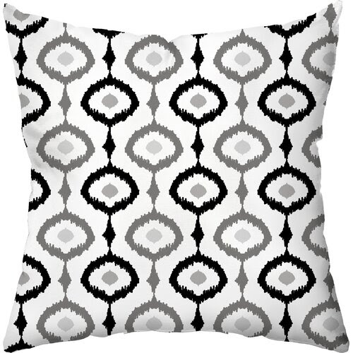 Ikat Outdoor Throw Pillow
