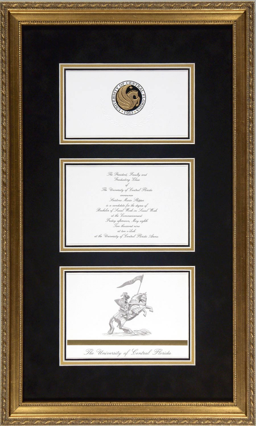 Invitations And Announcements Framed By Cindys Custom Framing