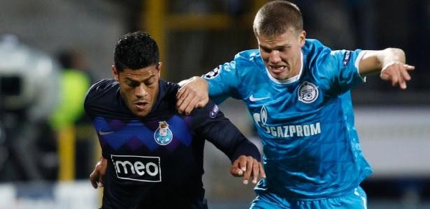 Hulk e Denisov, então adversários: 'não merece o salário que tem', disse o capitão russo