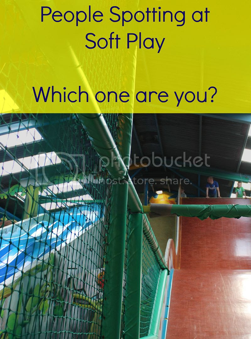people spotting at soft play