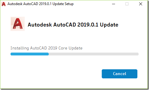 AutoCAD 2019.0.1 Update