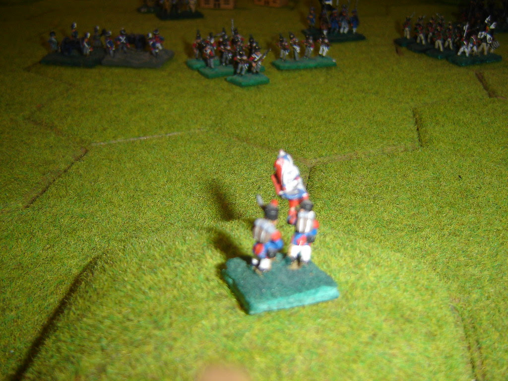 The French right flank