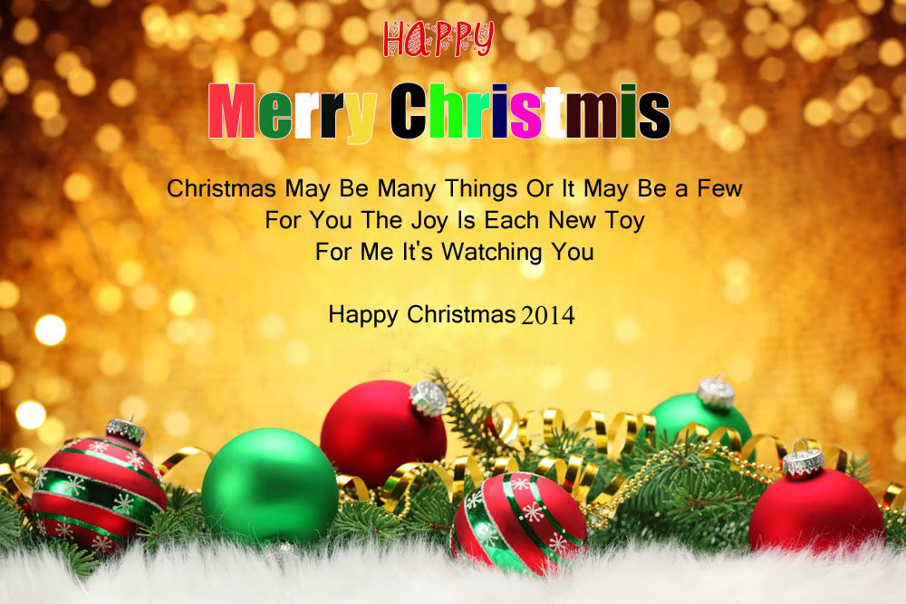 Christmas Greeting Messages Sms - Sinter C