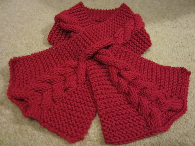 cabled keyhole scarf (8)