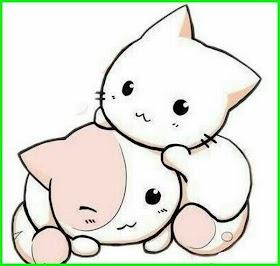 Kucing Lucu Anime