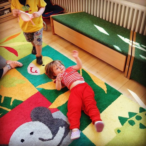 3rd day at preschool (15août).