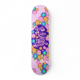 Girl Power Skateboard skateboard