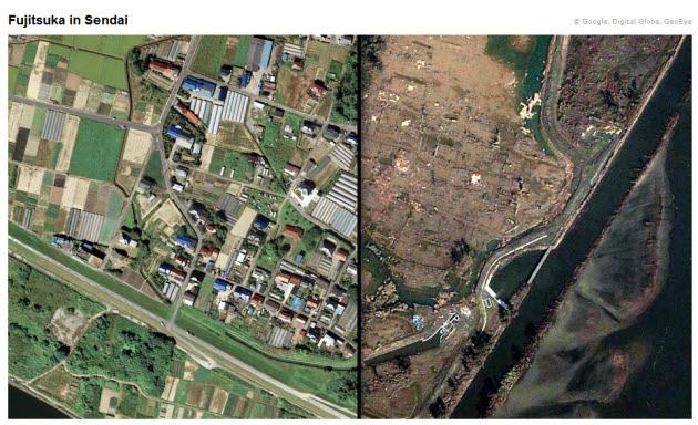 Google Earth Aerial Photos Show Extent Of Quake Damage