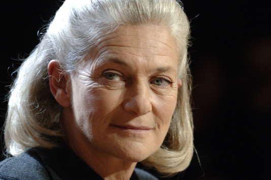L'écrivain et philosophe Elisabeth Badinter, en 2006, à Paris.