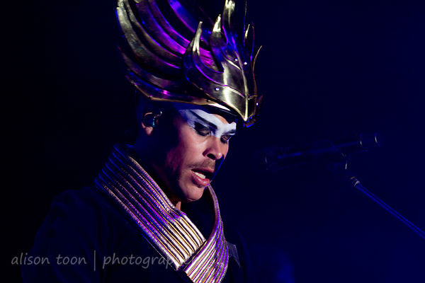 Luke Steele, vocals, Empire of the Sun, TBD Fest, 2014