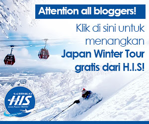 Ikuti Present Campaign HIS Winter Tour Blogging Competition