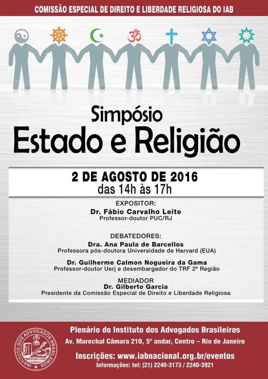 Simpósio Estado e Religião
