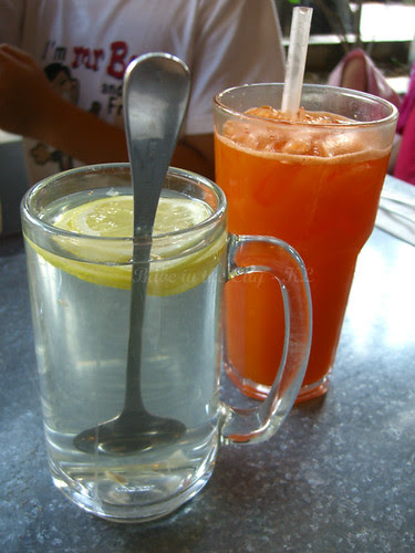 Honey Lemon & Carrot Juice