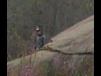 Captan en cámara fantasma de soldado de la batalla de Gettysburg