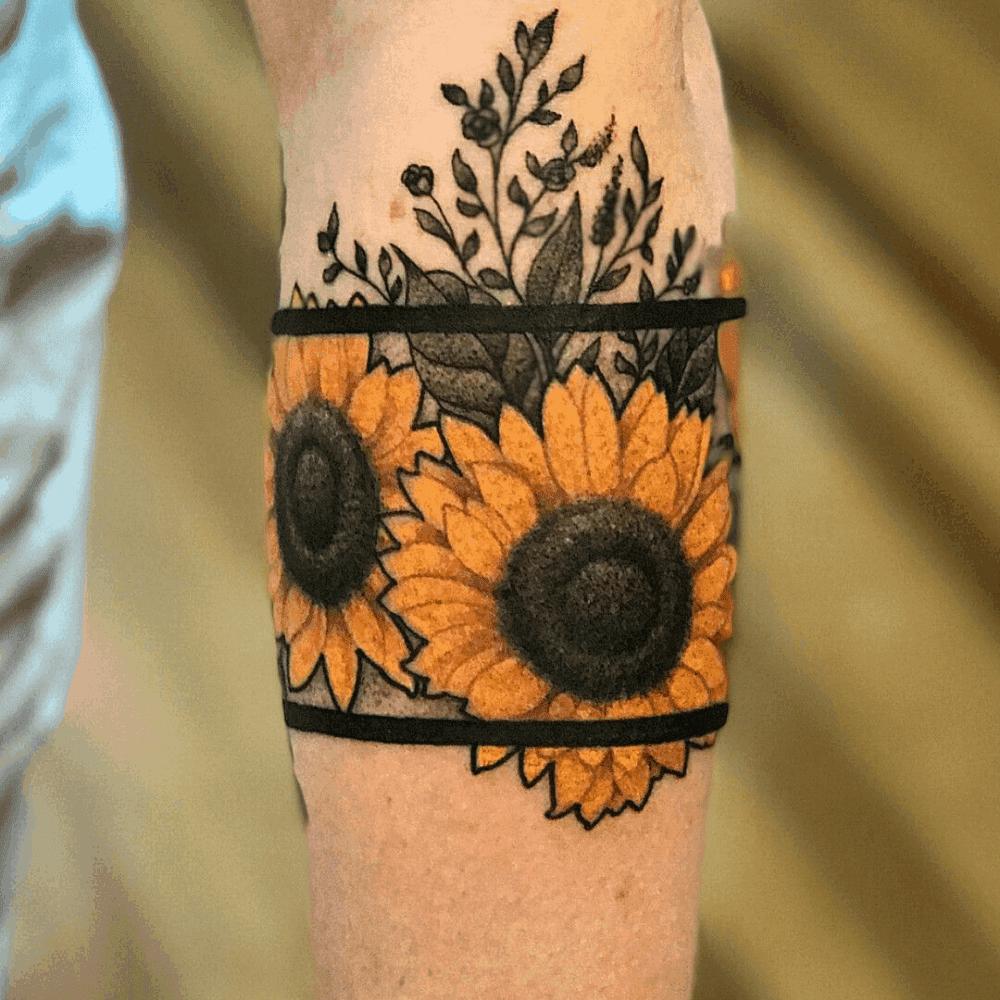 135 Sunflower Tattoo Ideas - [Best Rated Designs in 2020 ...