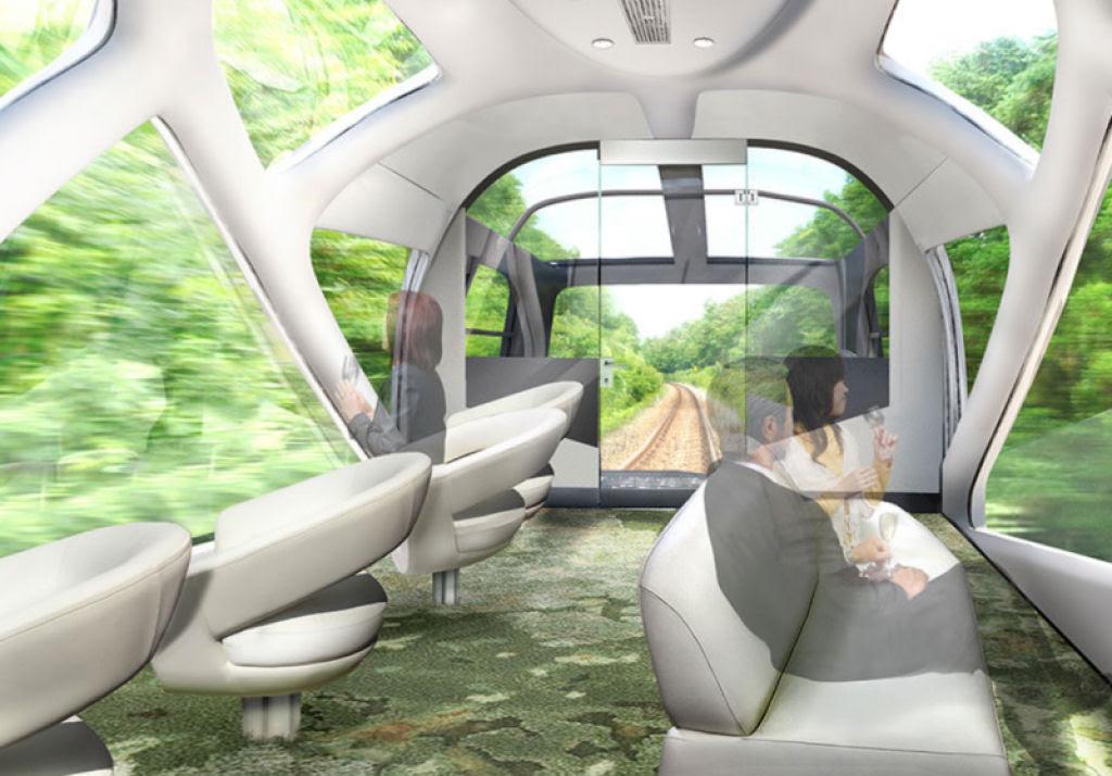 O interior do Shiki-shima: o trem mais luxuoso do mundo que atravessa o Japão 06