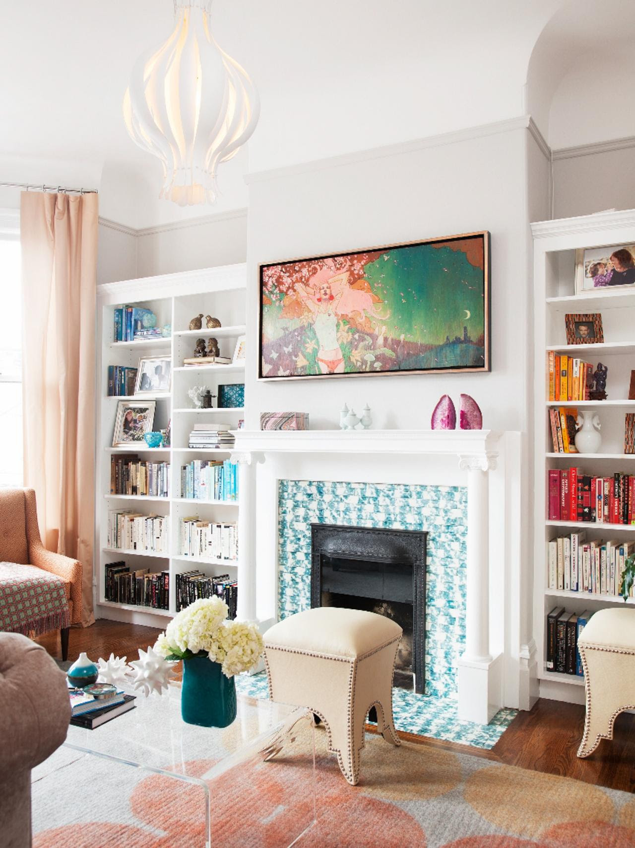 25 Relaxed Transitional Living Room Design Ideas ...