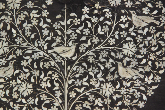 Detached front of a cabinet - detail