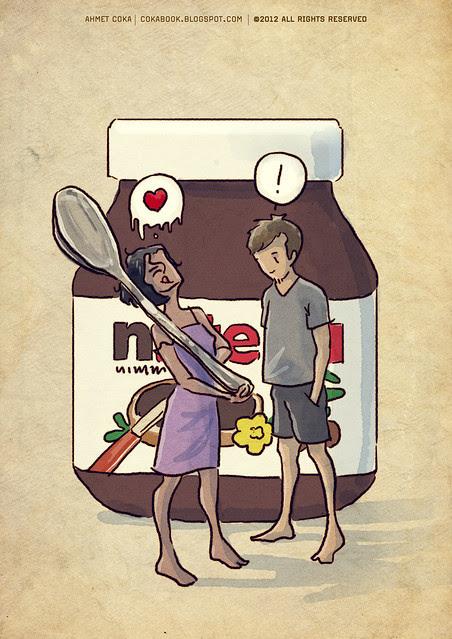 hulya loves nutella