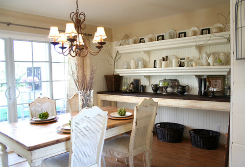 The Old Painted Cottage traditional dining room