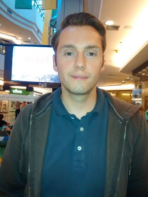 O alemão Sven Latzke (Foto: Isabella Calzolari/ G1)